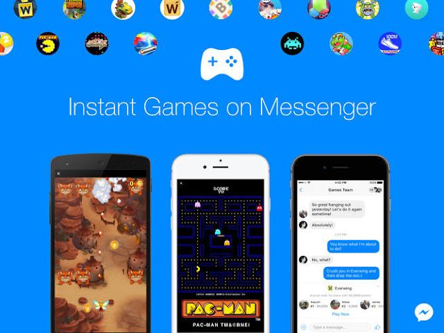 يمكنك الآن تشغيل الألعاب في فيسبوك مسنجر