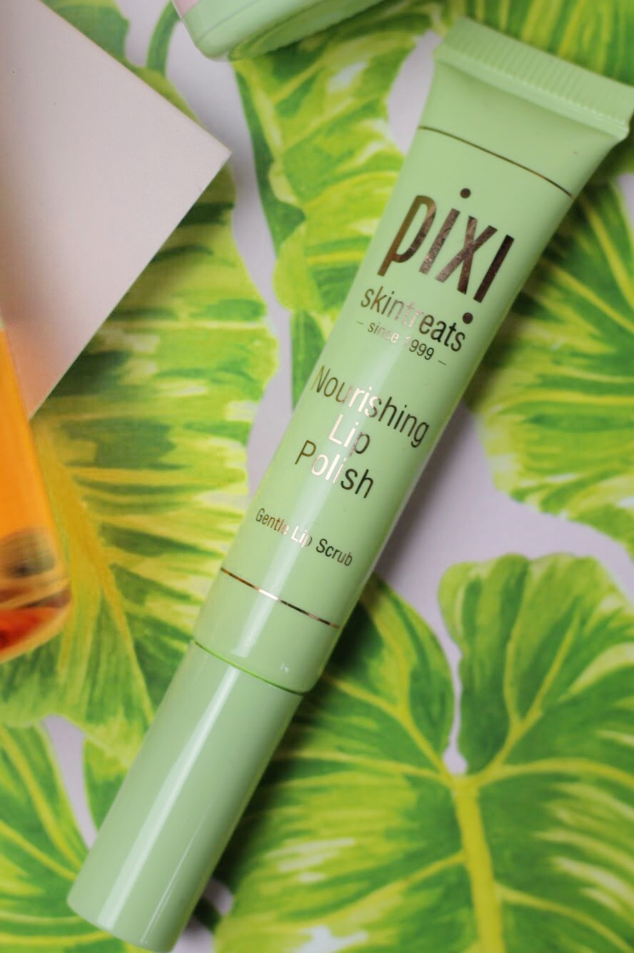 pixi beauty nourishing lip polish gentle lip scrub review from Liverpool blogger