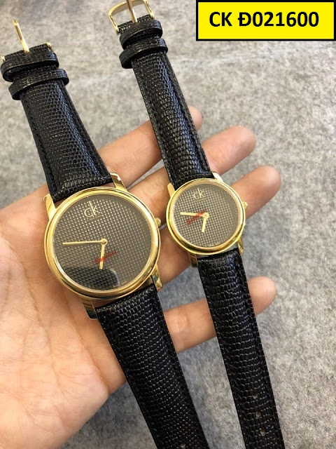 Đồng hồ dây da CK Đ021600