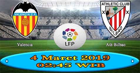 Prediksi Bola855 Valencia vs Ath Bilbao 4 Maret 2019