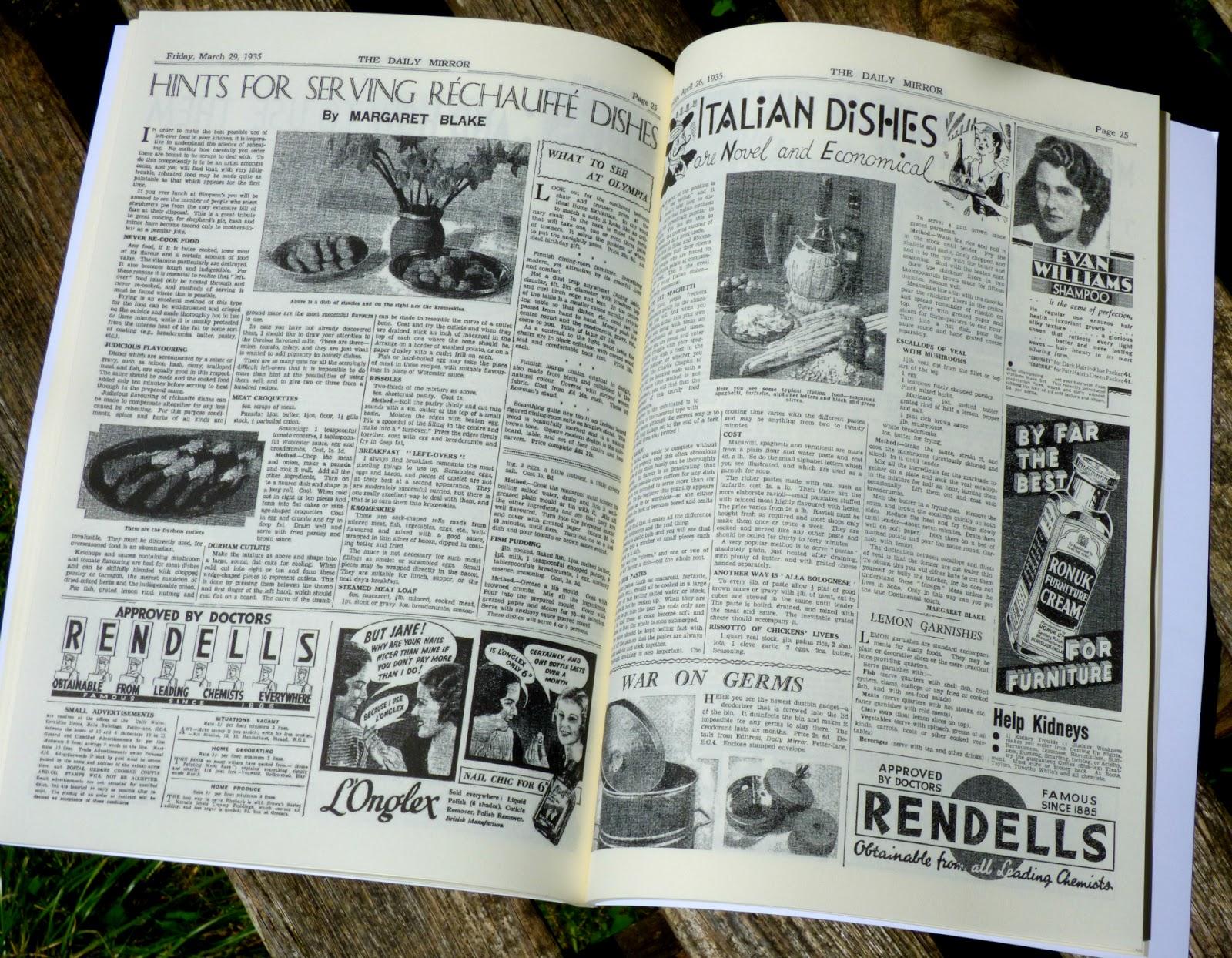 chez maximka vintage recipe cookbooks historic newspapers