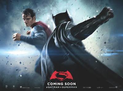 Batman v Superman: Dawn of Justice Teaser Movie Battle Banner