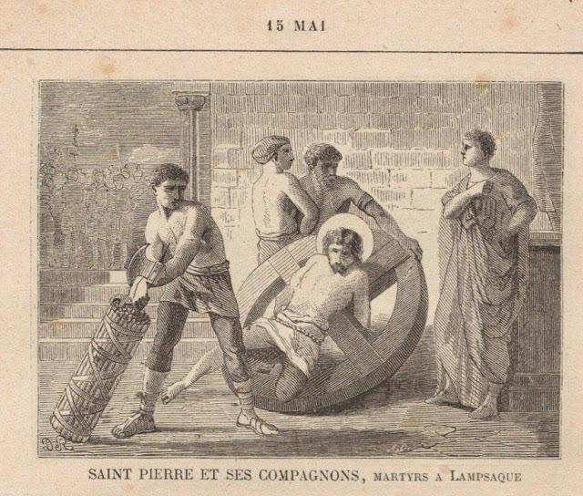 sveti Peter, Andrej, Pavel in Dionizija - mučenci
