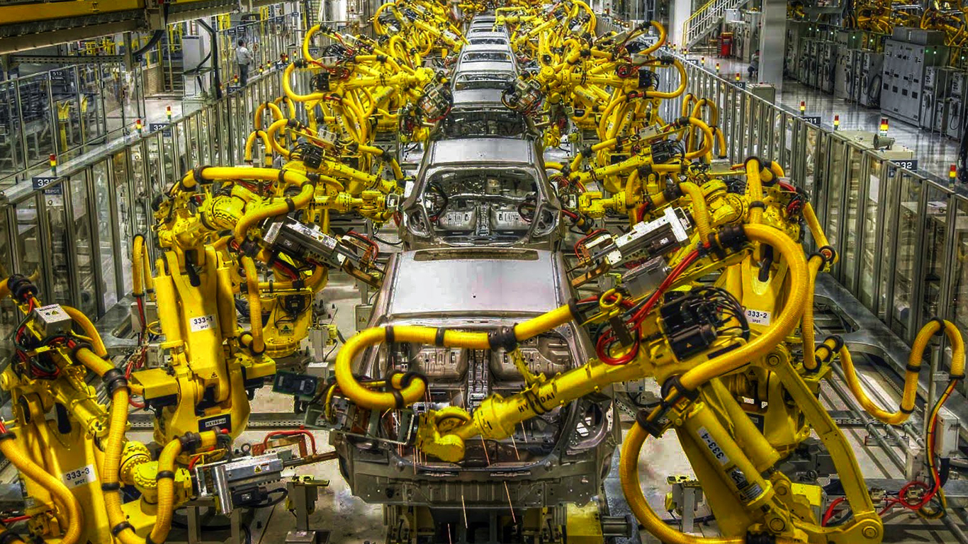 robotics used in automobiles What is automotive manufacturing automotive manufacturing can be defined as the production of an automobile by the use of humans and robots together to efficiently produce the automobile.