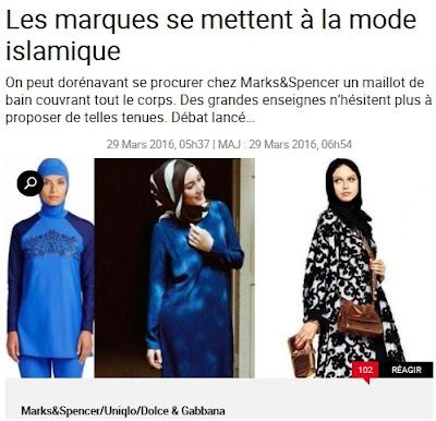 La Femme, la mode islamique et la loi du commerce: Le nouveau billet de Marine Le Pen sur son blog