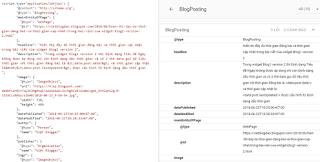 Hướng dẫn sửa dữ liệu cấu trúc BlogPosting trong widget Blog1 version 2