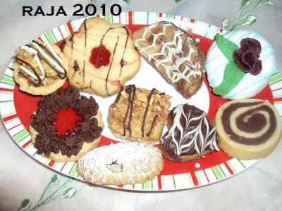 حلويات عيد الفطر جزائرية  بلاطو لاشكال عديدة بعجينة واحدة بالصور 20.jpg