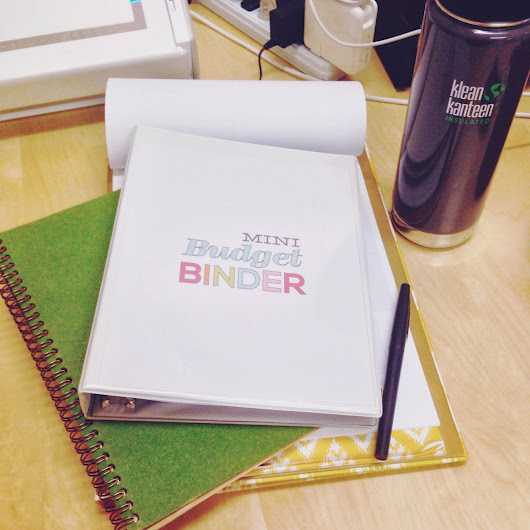 What I Love Wednesday: Mini Budget Binder
