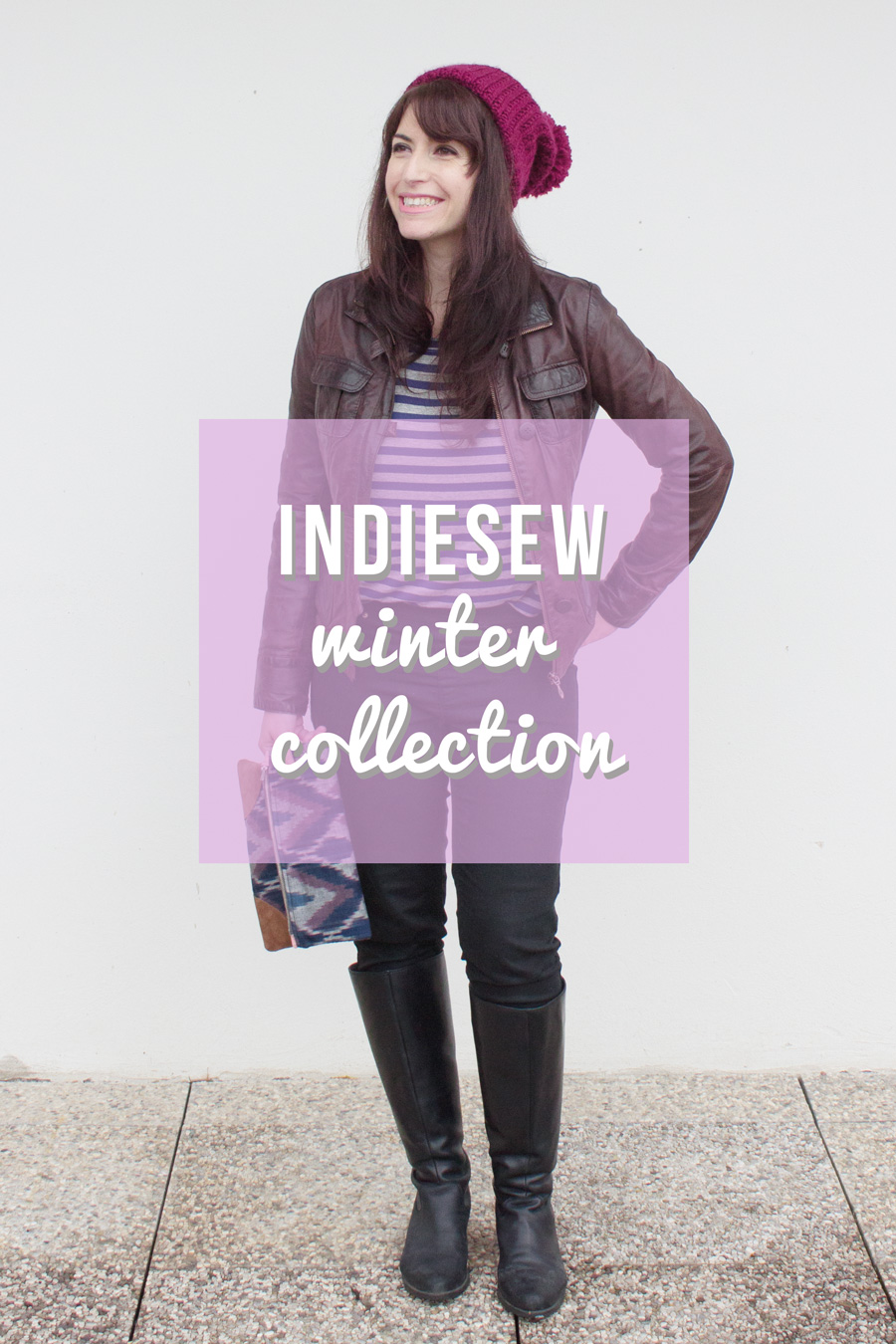 Randomly Happy sews the Indiesew Winter Collection