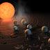 Nasa descobre novo sistema solar com 7 planetas parecidos com a Terra.