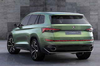 Skoda VisionS Concept (2016 Rendering) Rear Side