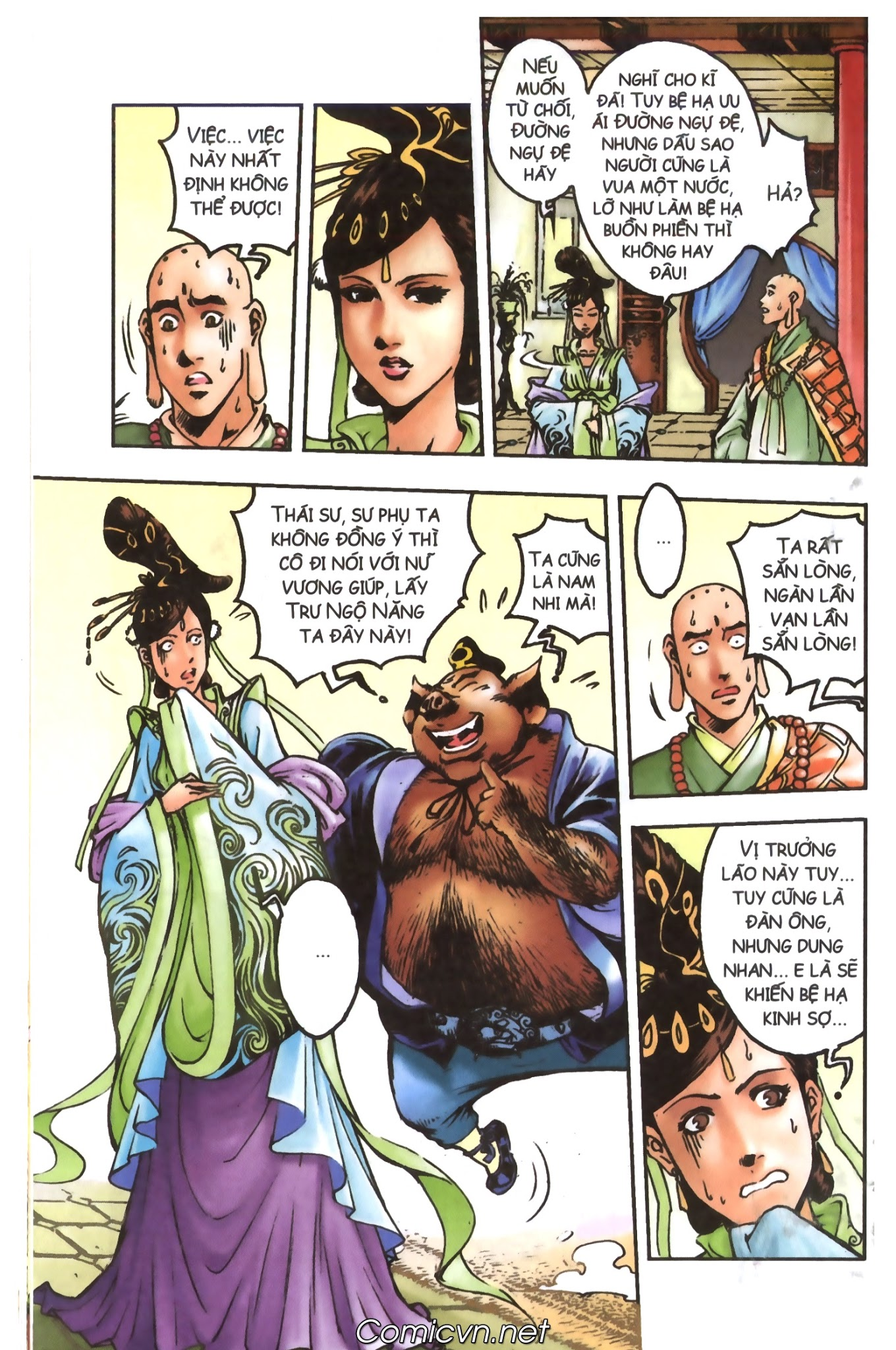 Tây Du Ký màu - Chapter 98 - Pic 5