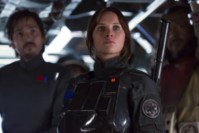 "Felicity Jones in ""Rogue One: A Star Wars Story"""