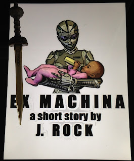 Portada del libro Ex Machina, de J. Rock