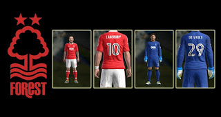 Kits Nottingham Forest 2016-2017 Pes 2013