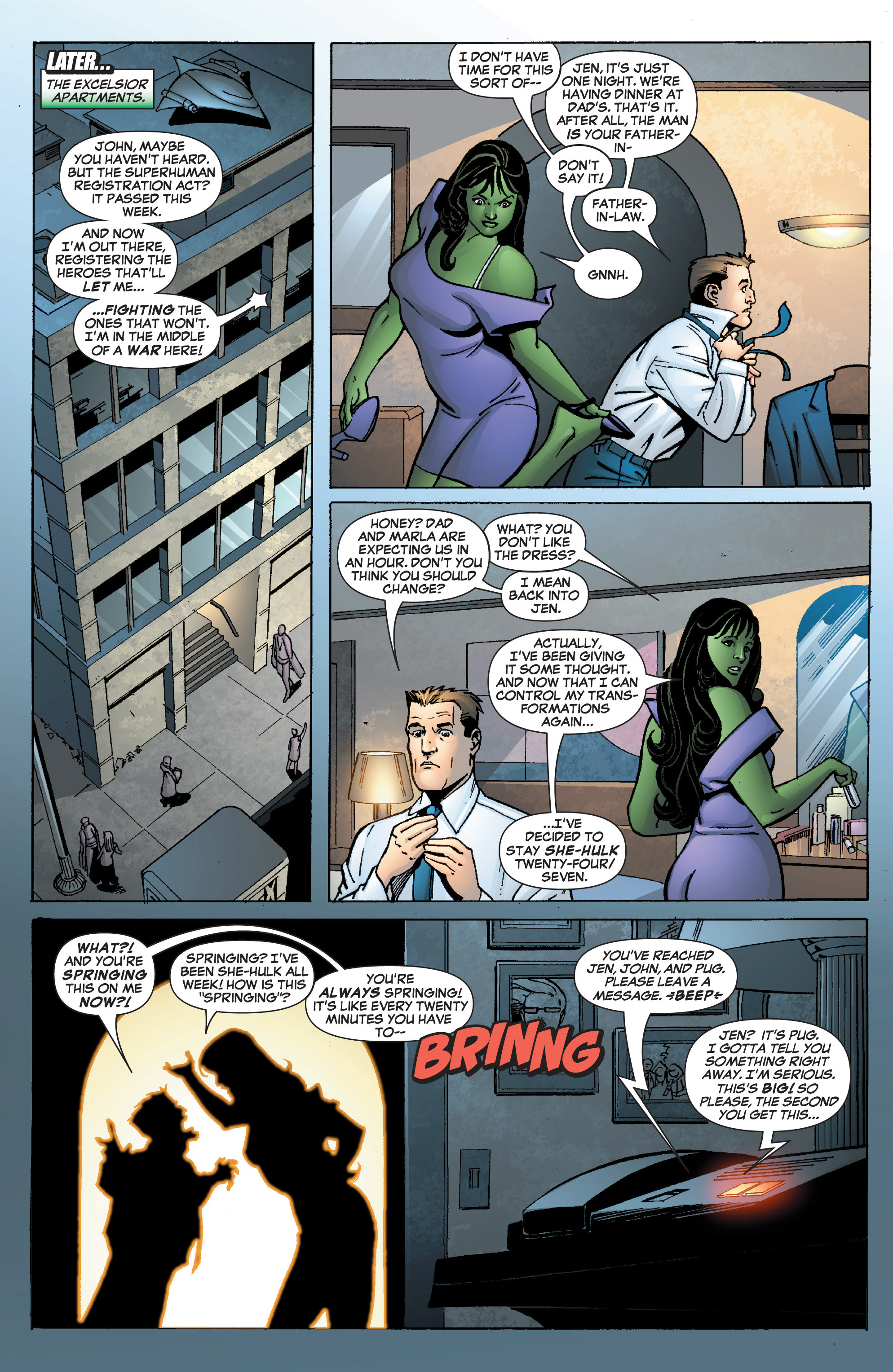 Read online She-Hulk (2005) comic -  Issue #9 - 11