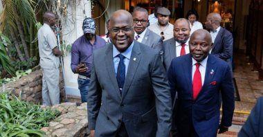 """""""فيليكس تشيسيكيدى """"الرئيس الجديد للكونغو الديمقراطية يقوم بتعديلات في وكالة الاستخبارات الوطنية"""