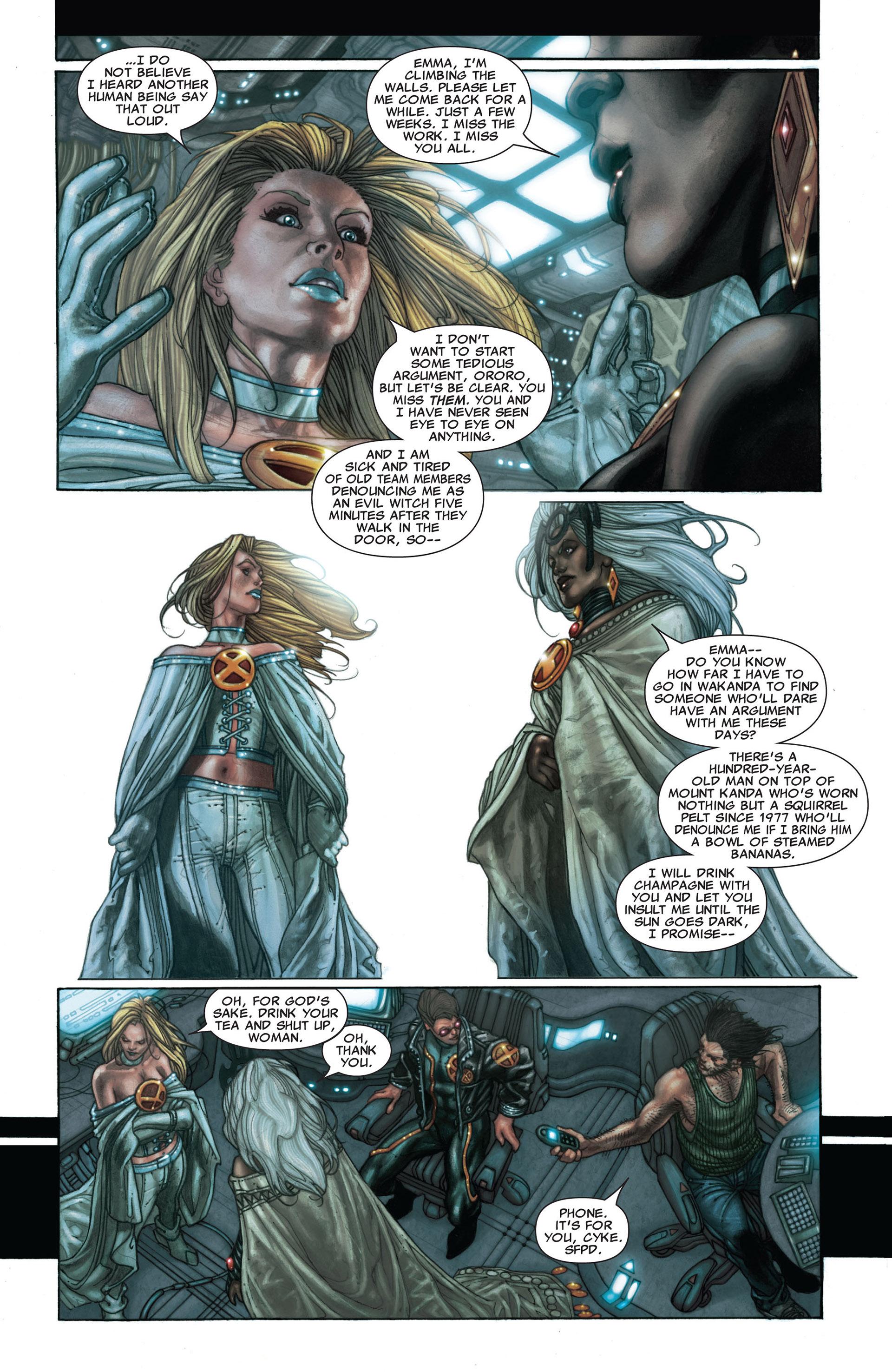 Read online Astonishing X-Men (2004) comic -  Issue #25 - 13