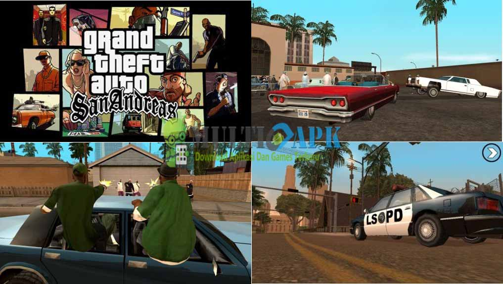 Grand Theft Auto San Andreas Apk + Data