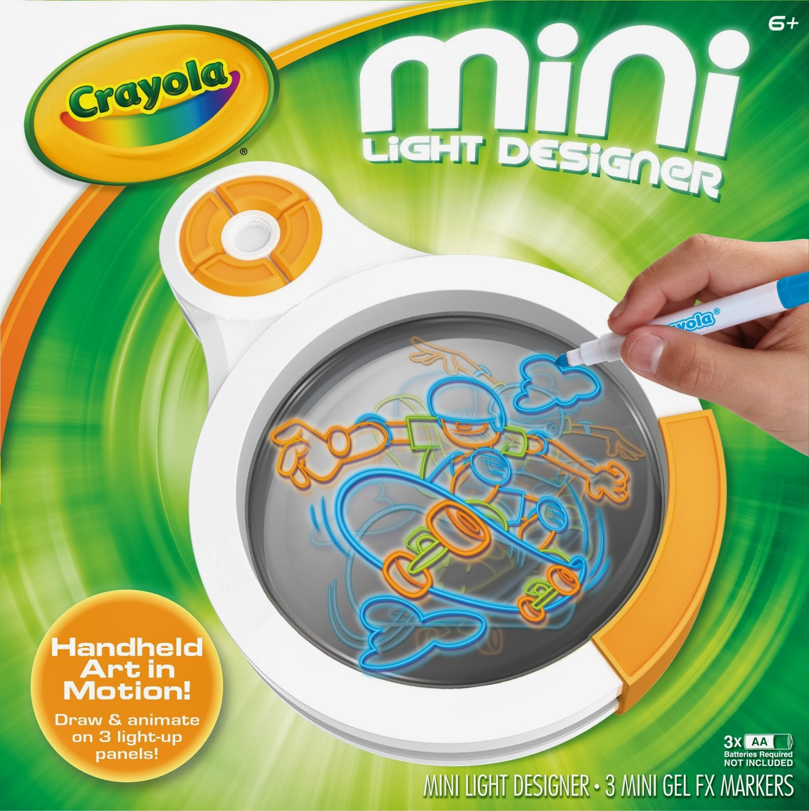 Crayola dome light designer review mommys block party