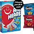 Airheads Full Size Candy = $0.10 each, Frito-Lay Snacks = $0.25 each, plus FREE shipping when you buy both!