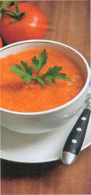 Reţetă culinară: Supă de roşii