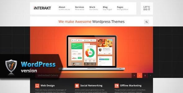 download Responsive WordPress Theme