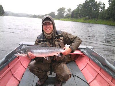 Salmon Fishing Scotland Licence to Kill Salmon.