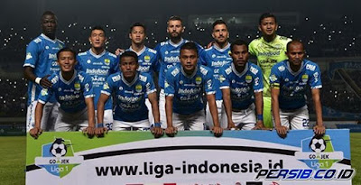 Jadwal Lengkap Persib Bandung di Liga 1 2018