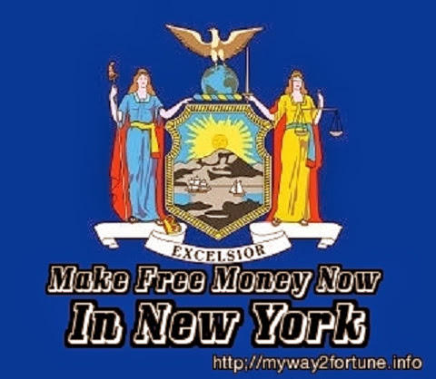 official flag of New York