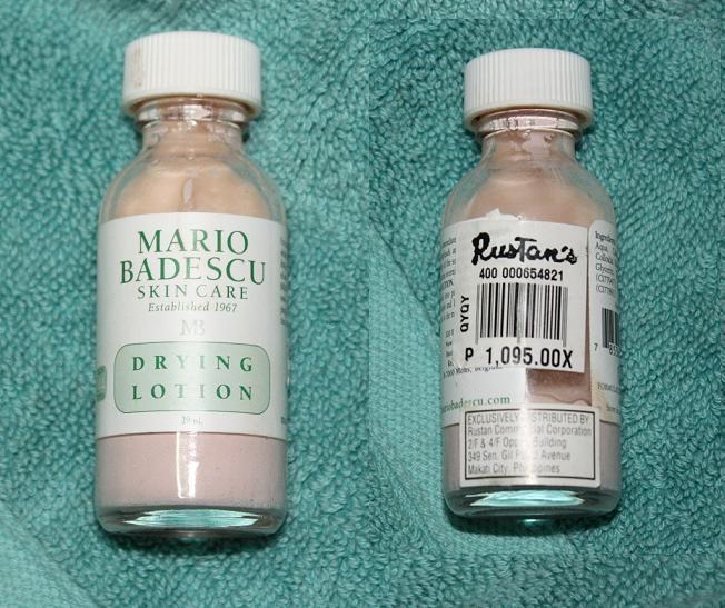 Makeup Rants Musings And More Mario Badescu Drying Lotion