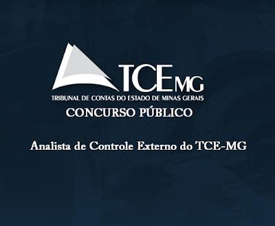 Apostila  Analista de Controle Externo TCE-MG