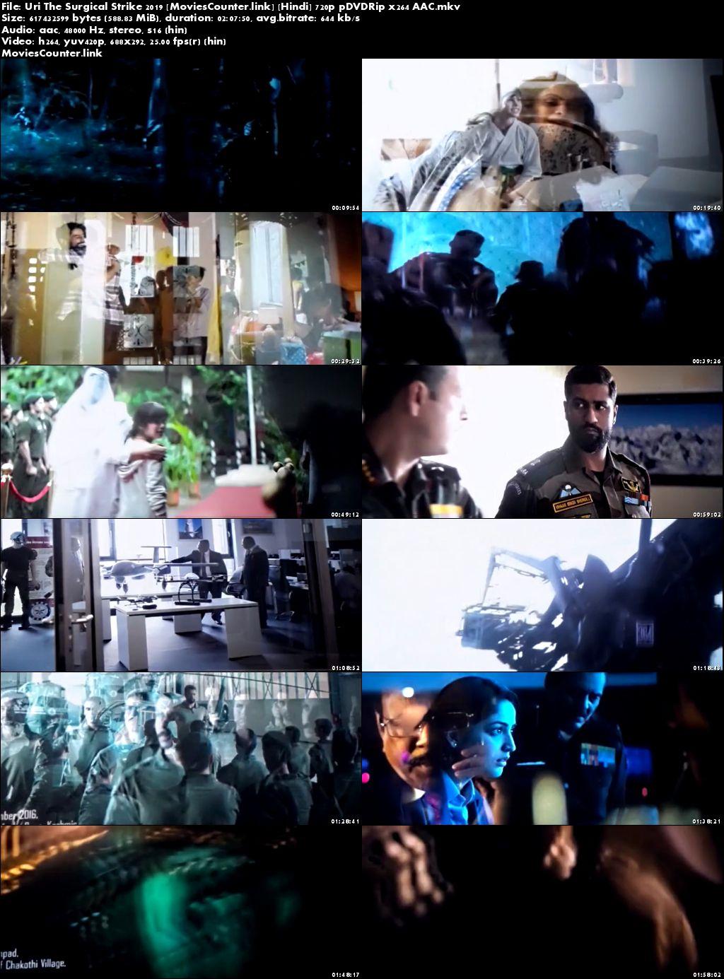 Screen Shots Uri: The Surgical Strike 2019 Hindi HD 720p