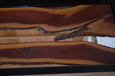工芸と喫茶ひとつ石 和室の欄間