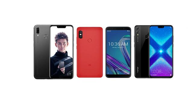 Top five mobiles under 20000