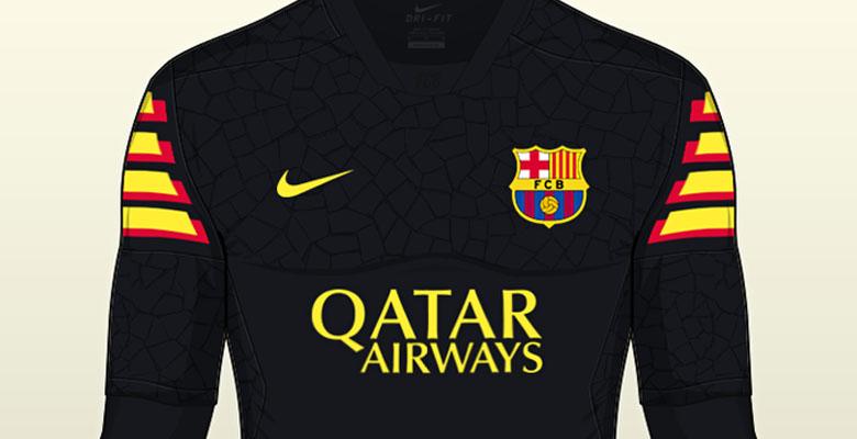 pretty nice 9da9b b1b5f FC Barcelona 16-17 Concept Kit by Franco - Footy Headlines