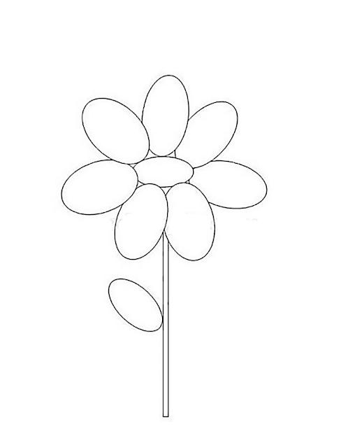 Gambar Mewarnai Bunga - 3