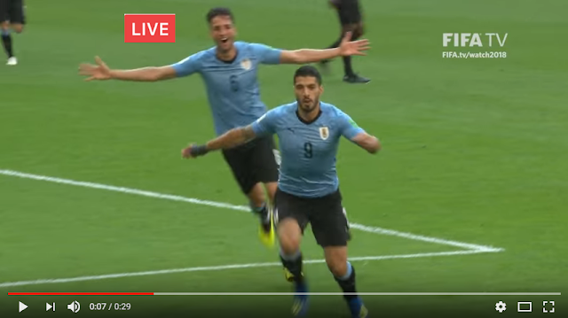Live Streaming Uruguay vs France