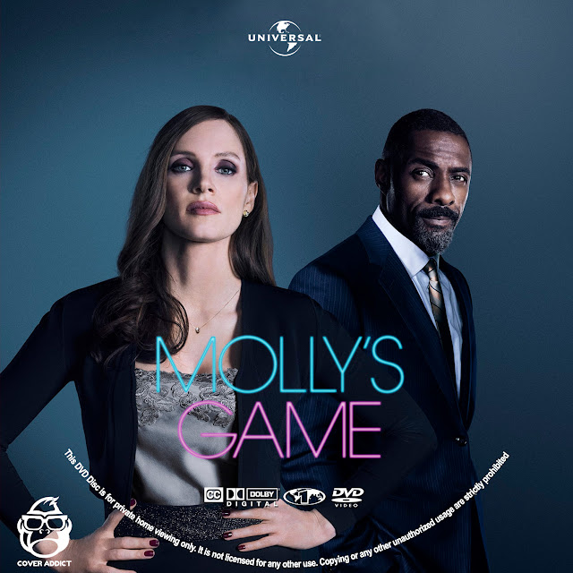 Molly's Game DVD Label