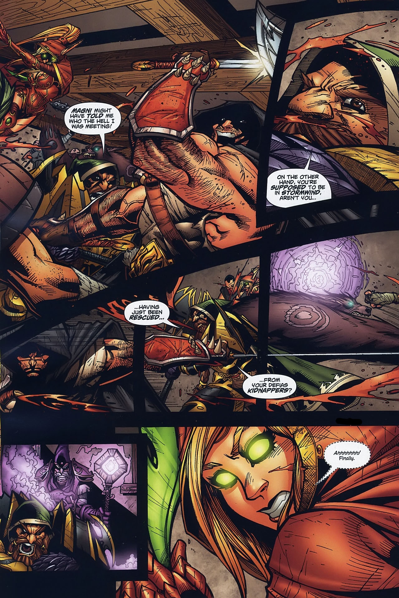 Read online World of Warcraft comic -  Issue #8 - 15