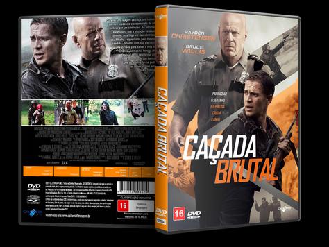 Capa DVD Caçada Brutal [Exclusiva]