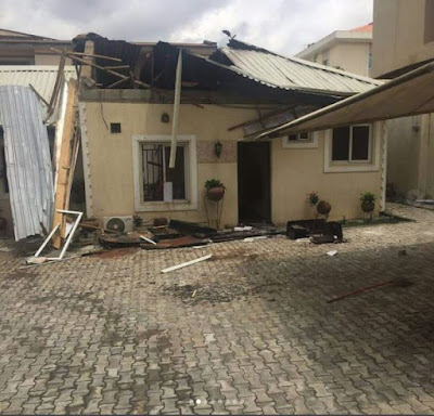 g - One Year Ago, Gas Explosion Changed My Life - Fashola's Brother Narrates (Photos)