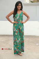 Actress Eesha Latest Pos in Green Floral Jumpsuit at Darshakudu Movie Teaser Launch .COM 0026.JPG