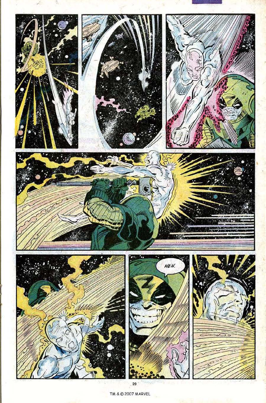 Read online Silver Surfer (1987) comic -  Issue #25 - 31