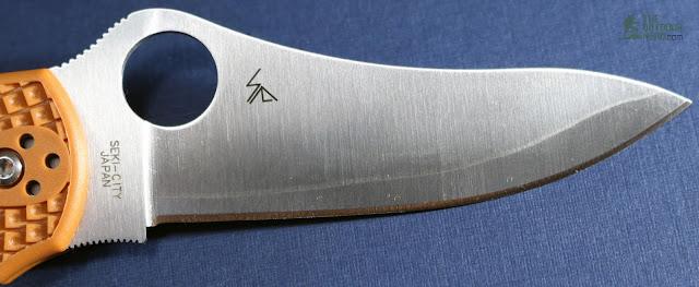 Spyderco HAP40 Stretch - Blade View 2