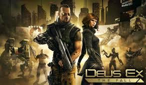 အက္ရွင္ အပစ္အခက္ ဂိမ္းေကာင္းေလး - Deus Ex: The Fall v0.0.36~37 Apk