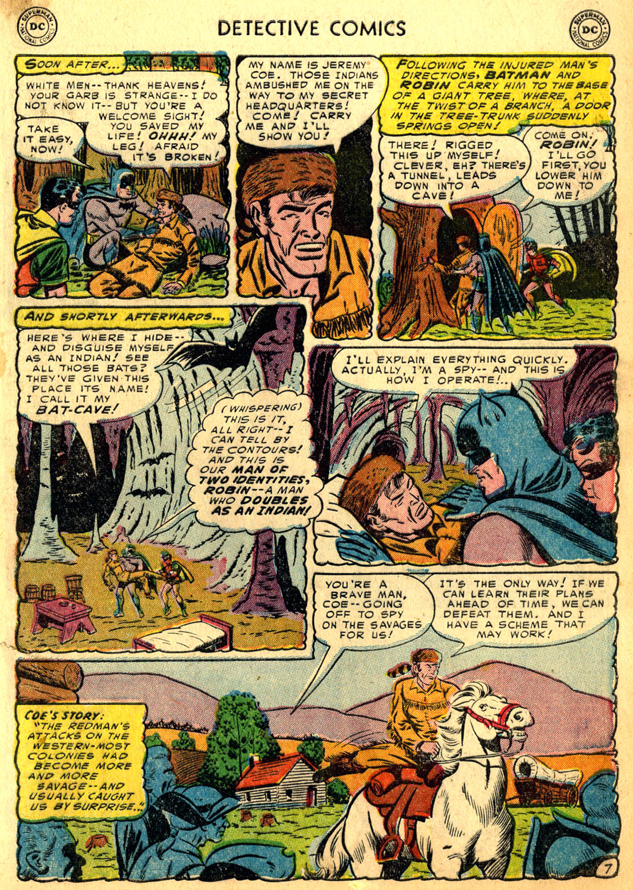 Read online Detective Comics (1937) comic -  Issue #205 - 9