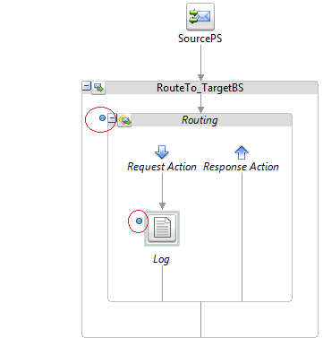 OSB Eclipse Debugger Message Flow with Toggle Breakpoint
