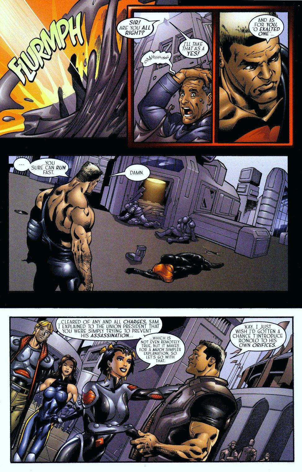 Read online Sigil (2000) comic -  Issue #14 - 18