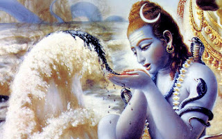 why lord shiva drank poison